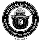 Smokey Bear Licensee logo